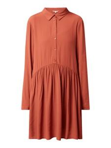 Sukienka Tom Tailor Denim z długim rękawem mini koszulowa
