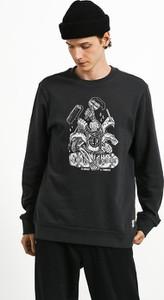 Bluza Element z nadrukiem z bawełny