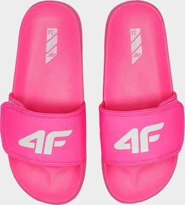 Różowe buty dziecięce letnie 4F dla dziewczynek