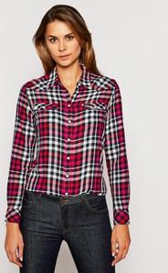 Koszula Wrangler z długim rękawem w stylu casual z kołnierzykiem