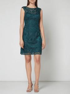 Sukienka Luxuar z satyny mini