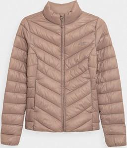 Różowa kurtka 4F w stylu casual