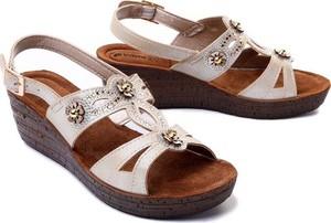 Sandały Inblu ze skóry