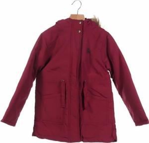 Czerwona kurtka dziecięca Lulucastagnette For Cache Cache dla chłopców