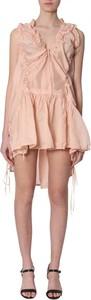 Sukienka Dsquared2 z jedwabiu