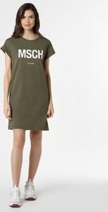 Zielona sukienka Moss Copenhagen prosta w stylu casual mini