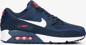 be5ef985e Niebieskie buty sportowe męskie nike air max 90, kolekcja lato 2019