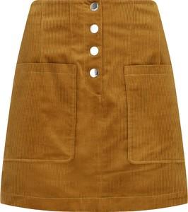 Brązowa spódnica Hugo Boss mini