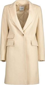 Płaszcz Lavard w stylu casual z wełny krótki