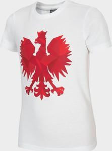 Koszulka dziecięca Oficjalny sklep Allegro z krótkim rękawem z bawełny