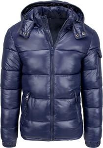 Niebieska kurtka Dstreet krótka