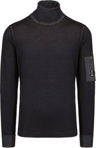 Czarna bluza Cp Company w stylu casual