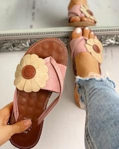 Różowe klapki Kendallme