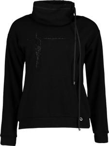 Czarna bluza Lavard z tkaniny