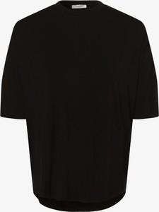 Czarny t-shirt Moss Copenhagen
