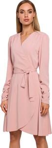 Sukienka MOE mini asymetryczna