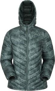 Zielona kurtka Mountain Warehouse w stylu casual z tkaniny krótka