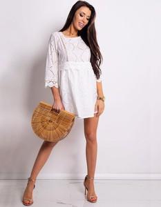 Sukienka Dstreet w stylu casual mini z długim rękawem