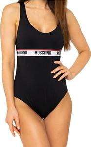 Czarny strój kąpielowy Moschino w stylu casual