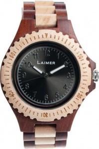 zegarek męski LAIMER 0014 zegarek drewniany