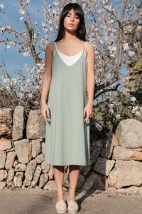 Sukienka MOE z bawełny na ramiączkach