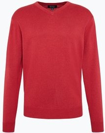 Czerwony sweter mc earl