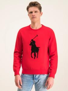 Czerwona bluza POLO RALPH LAUREN z nadrukiem