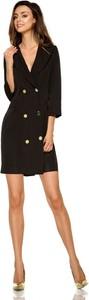 Sukienka Lemoniade mini z dekoltem w kształcie litery v z długim rękawem