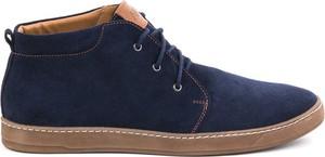 Buty zimowe AKARDO w stylu casual sznurowane