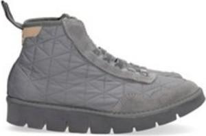 Buty zimowe Panchic w sportowym stylu ze skóry