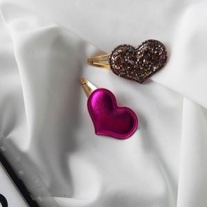 Vezzi Spinka serduszka,różowy,złoty O1V90032-1 (2szt)