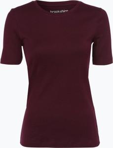 Bordowy t-shirt brookshire