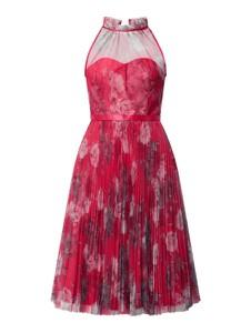 Sukienka Laona z szyfonu z dekoltem w kształcie litery v