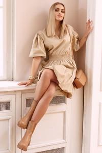 Sukienka Makadamia w stylu casual z bawełny