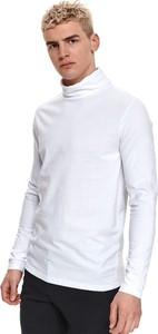 Sweter Top Secret w stylu casual z golfem