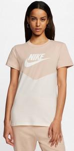 Bluzka Nike z okrągłym dekoltem