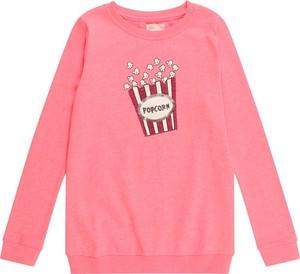 Różowa bluzka dziecięca Kids Only z długim rękawem
