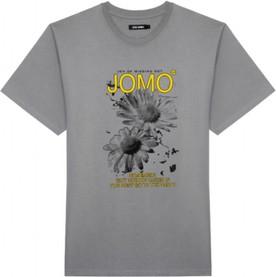 T-shirt LOCAL HEROES w młodzieżowym stylu z krótkim rękawem z bawełny