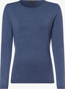 Niebieski sweter Franco Callegari w stylu casual z kaszmiru