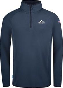 Granatowa bluza Westfjord w sportowym stylu