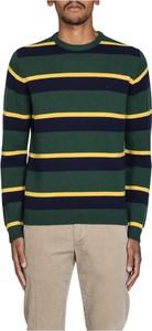 Zielony sweter Sun 68 w młodzieżowym stylu