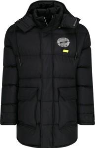 Płaszcz męski McQ Alexander McQueen w stylu casual z plaru