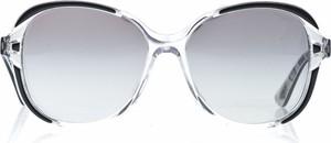 Srebrne okulary damskie Vogue