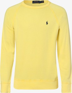 Żółta bluza POLO RALPH LAUREN z bawełny
