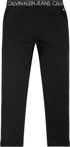 Czarne spodnie dziecięce Calvin Klein