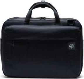 Czarna torba Herschel Supply Co. ze skóry