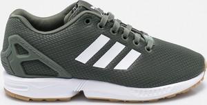 Buty sportowe Adidas Originals sznurowane z płaską podeszwą zx flux