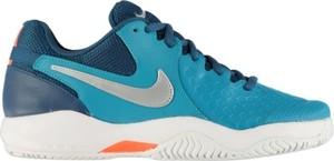 Błękitne buty Nike