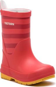 Czerwone kalosze dziecięce Tretorn
