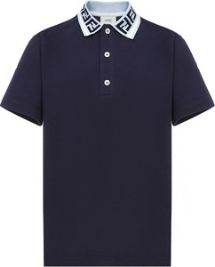 Koszulka dziecięca Fendi z bawełny dla chłopców